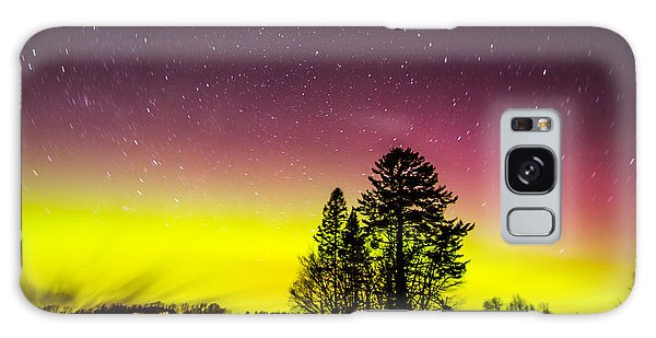 Bright Aurora Galaxy Case