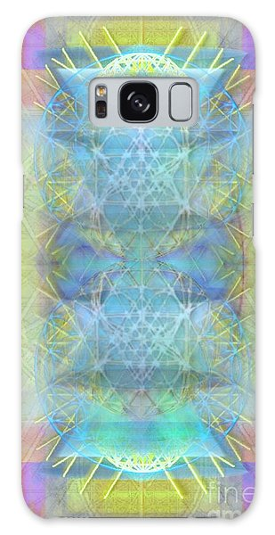 Bright Chalice Ancient Symbol Tapestry Galaxy Case