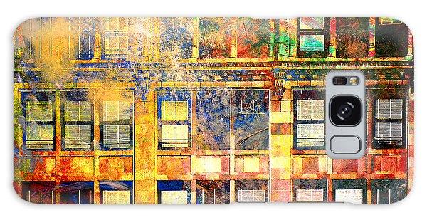 Bright City Textures Galaxy Case