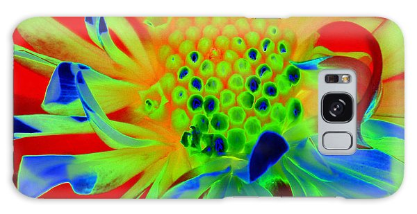 Bright Flower Galaxy Case by Diane E Berry