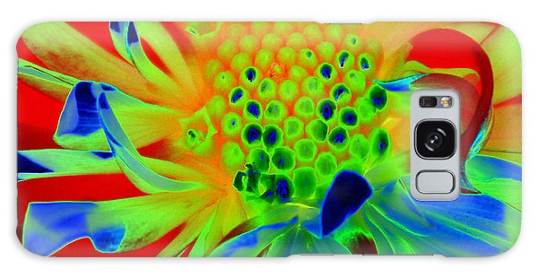 Bright Flower Galaxy Case