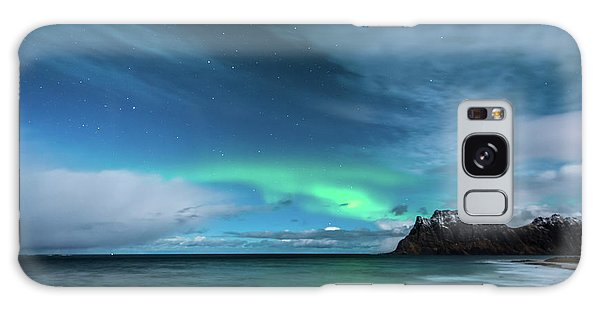 Galaxy Case featuring the photograph Bright Night by Alex Lapidus