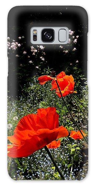 Bright Orange Galaxy Case by Renate Nadi Wesley