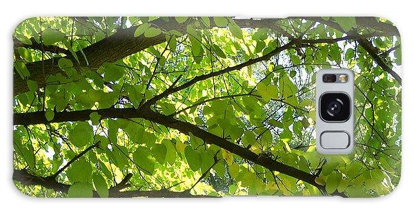 Bright Treetop  Galaxy Case