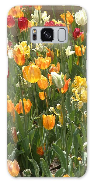 Bright Tulips Galaxy Case