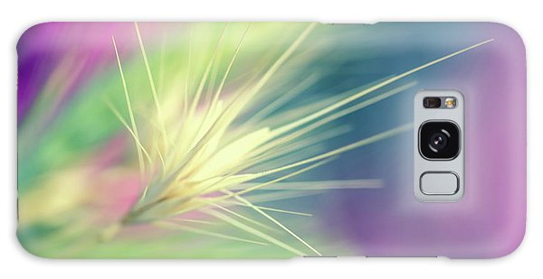 Nature Galaxy Case - Bright Weed by Terry Davis