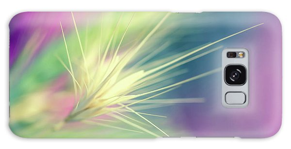 Galaxy Case - Bright Weed by Terry Davis