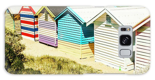 Shed Galaxy Case - Brighton Beach, Melbourne by Jorgo Photography - Wall Art Gallery