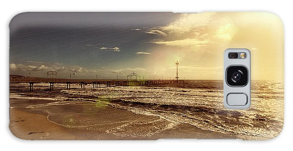 Brighton Beach Pier Galaxy Case by Douglas Barnard