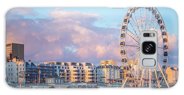 Brighton Ferris Wheel Galaxy Case