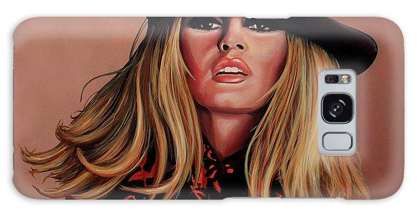 Realistic Galaxy Case - Brigitte Bardot Painting 1 by Paul Meijering