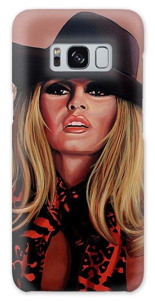 Brigitte Bardot Painting 1 Galaxy Case
