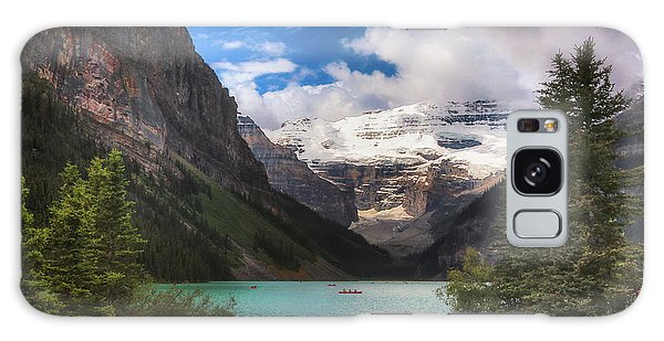 Brilliant Lake Louise Galaxy Case