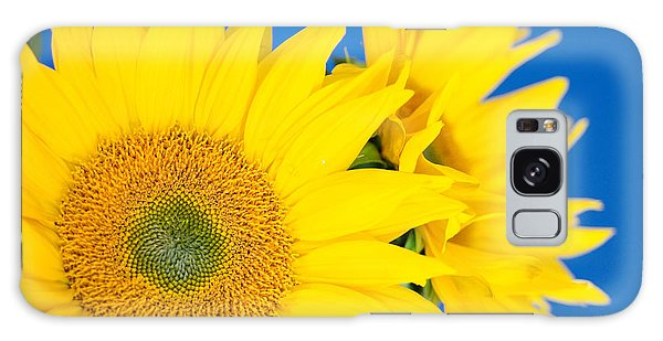 Brilliant Sunflowers Galaxy Case