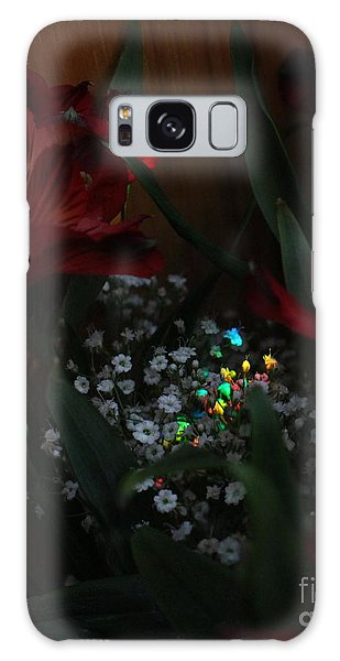 Galaxy Case featuring the photograph Brilliantly Shy by Marie Neder