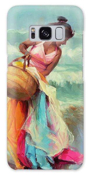 Breeze Galaxy Case - Brimming Over by Steve Henderson