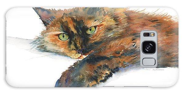 Calico Cat Galaxy Case - Brina by Amy Kirkpatrick