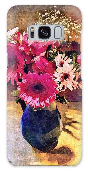 Brithday Wish Bouquet Galaxy Case