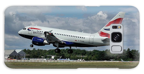 British Airways Airbus A318-112 G-eunb Galaxy Case