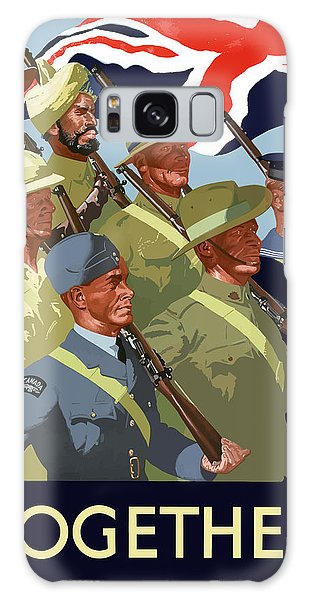 English Galaxy Case - British Empire Soldiers Together by War Is Hell Store