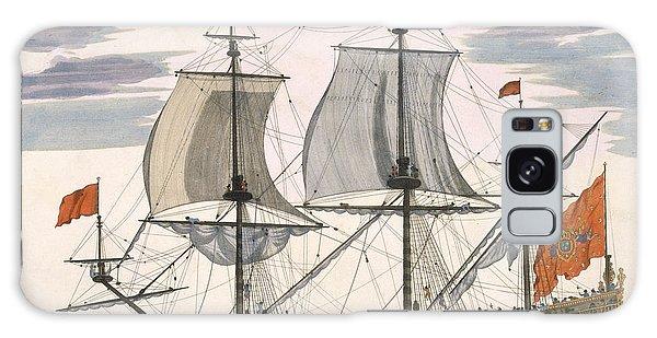 Bay Galaxy Case - British Navy by Pierre Mortier