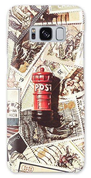 British Post Box Galaxy Case by Jorgo Photography - Wall Art Gallery