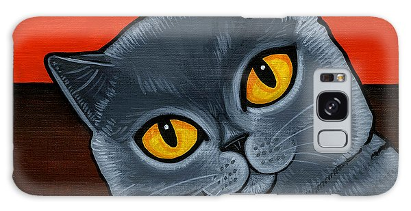 British Shorthair Galaxy Case