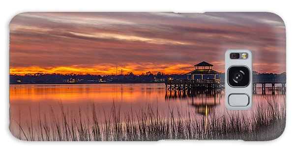 Brittlebank Park Dock Charleston Sc Galaxy Case