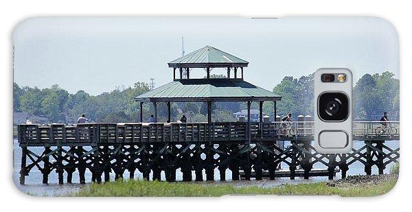 Galaxy Case - Brittlebank Park Pier by Lisa Marie Towne