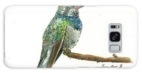 Hummingbird Galaxy S8 Case - Broad Billed Hummingbird by Juan Bosco