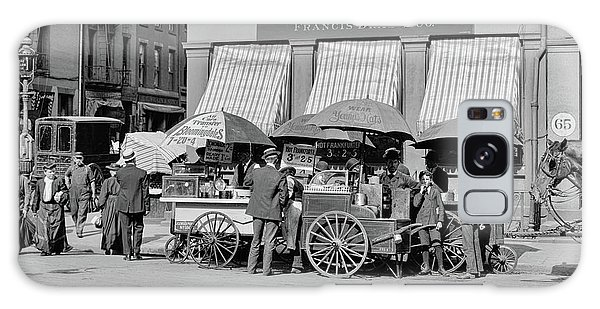 Broad St. Lunch Carts New York Galaxy Case