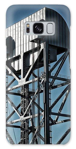 Broadway Bridge South Tower Detail 2 Chromatic Galaxy Case
