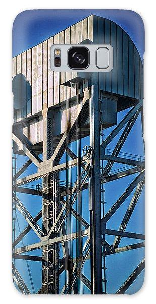 Broadway Bridge South Tower Detail 4 Chromatic Galaxy Case