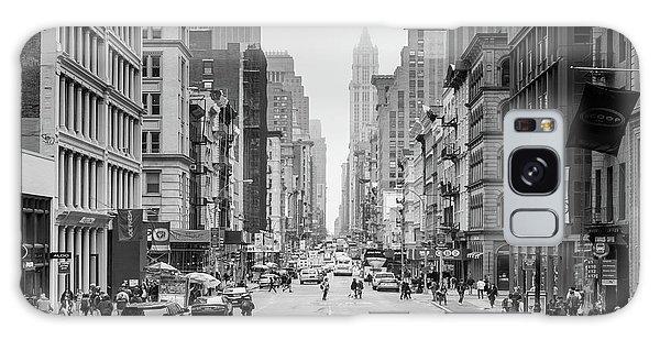 New York City Taxi Galaxy Case - Broadway Chill by Az Jackson