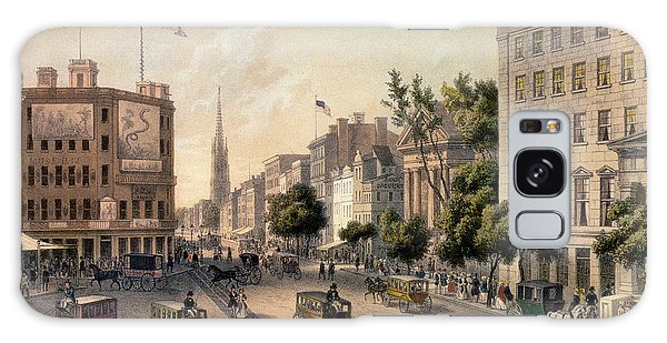 Co Galaxy S8 Case - Broadway In The Nineteenth Century by Augustus Kollner