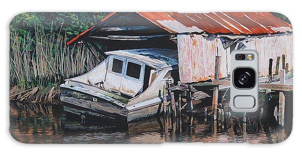Broken Boat Galaxy Case