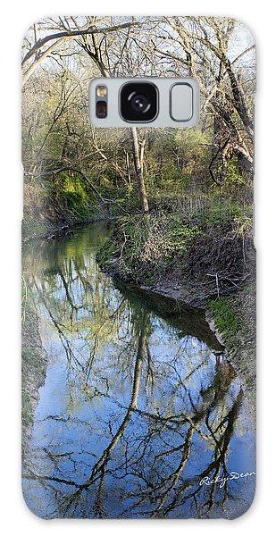 Broken Branch Creek Galaxy Case by Ricky Dean