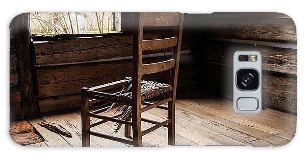 Galaxy Case featuring the photograph Broken Chair by Doug Camara