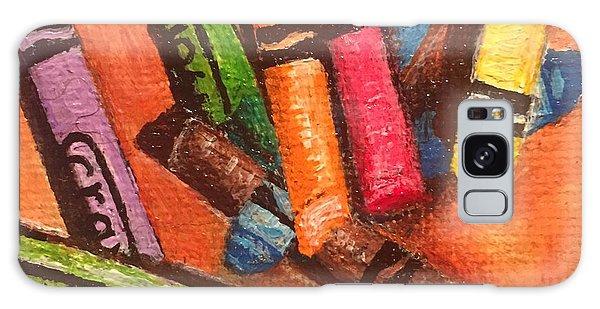 Broken Crayons Galaxy Case
