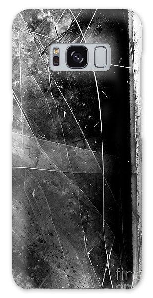 Derelict Galaxy Case - Broken Glass Window by Jorgo Photography - Wall Art Gallery