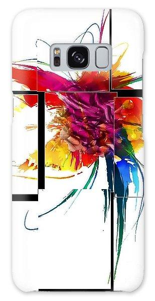Broken Pattern By Nico Bielow Galaxy Case by Nico Bielow