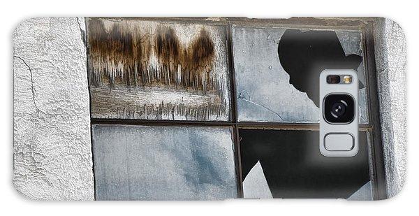 Broken Window Broken Glass Galaxy Case