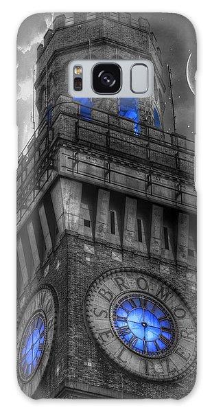 Bromo Seltzer Tower Baltimore - Blue  Galaxy Case