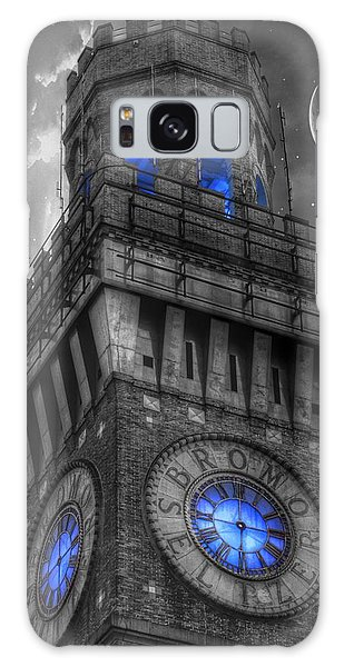Bromo Seltzer Tower Baltimore - Blue  Galaxy Case