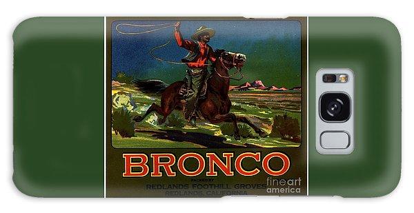 Bronco Redlands California Galaxy Case by Peter Gumaer Ogden
