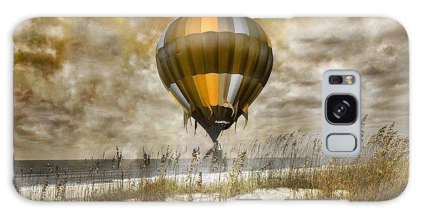 Hot Air Balloons Galaxy Case - Bronze Beach Ballooning by Betsy Knapp