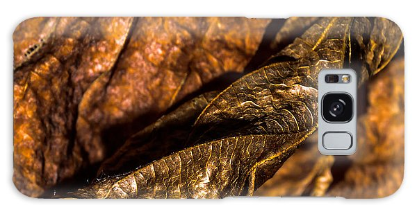 Bronze Leaves Galaxy Case