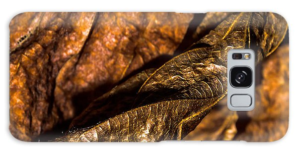 Bronze Leaves Galaxy Case