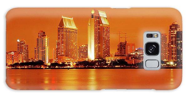 Bronze San Diego Skyline Galaxy Case