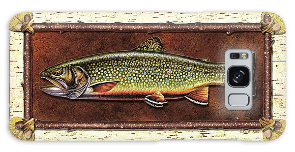 Trout Galaxy Case - Brook Trout Lodge by JQ Licensing